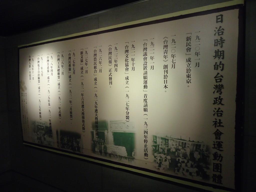 日治时期的台湾政治社会运动团体